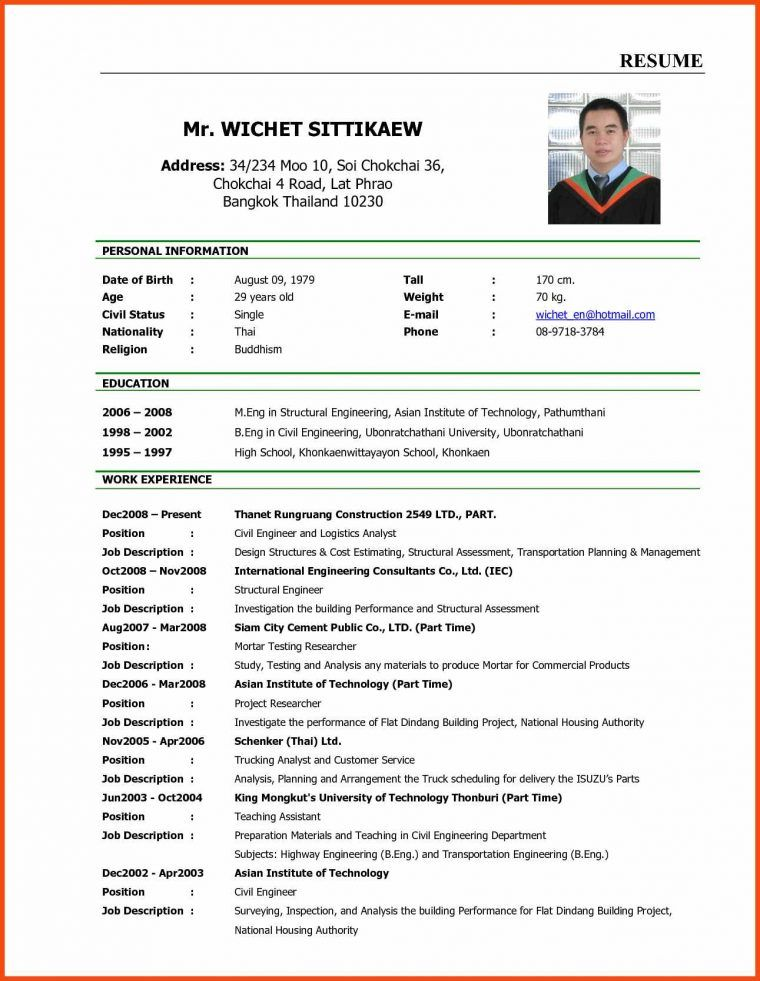 curriculum vitae for job application sample new tech timeline waa mood resume examples Resume New Age Resume Templates