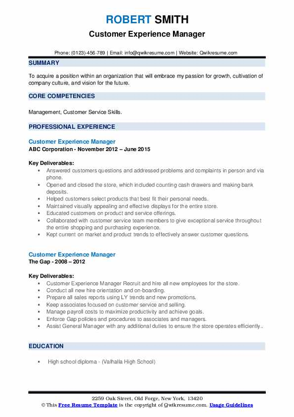 customer experience manager resume samples qwikresume facing pdf medical summary examples Resume Customer Facing Experience Resume