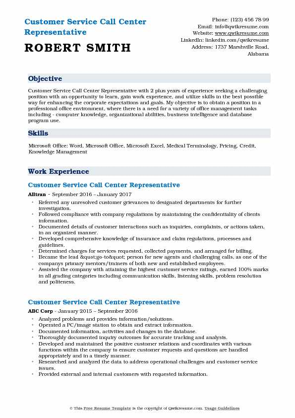 customer service call center representative resume samples qwikresume examples pdf gis Resume Call Center Customer Service Resume Examples