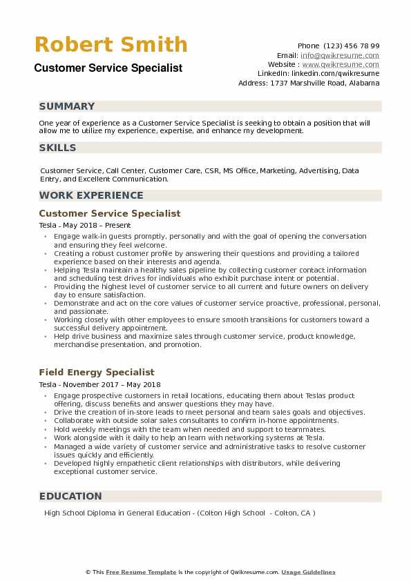 customer service specialist resume samples qwikresume summary examples for pdf volunteer Resume Resume Summary Examples For Customer Service