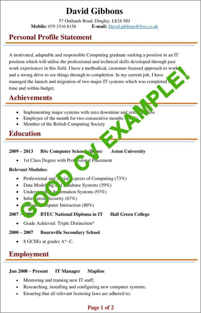 cv examples example of good biggest mistakes to resume build an awesome short note on Resume Build An Awesome Resume