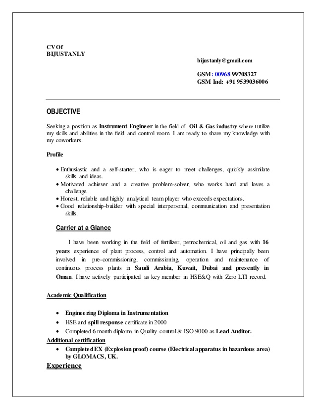 cv instrument commissioning engineer resume on file meaning transit bus driver examples Resume Commissioning Engineer Resume