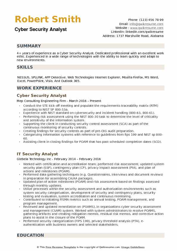 cyber security analyst resume samples qwikresume cybersecurity sample pdf role of Resume Cybersecurity Resume Sample