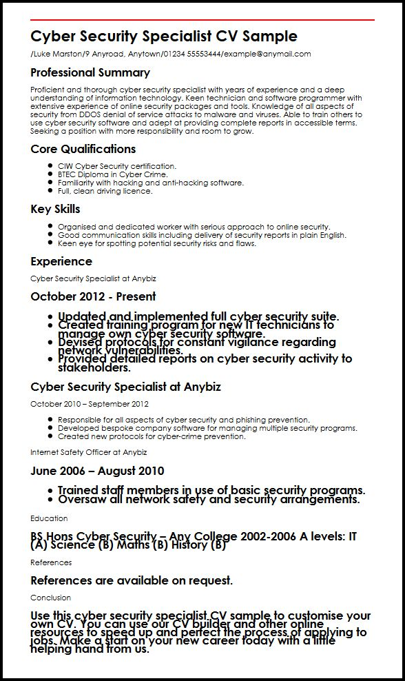 cyber security analyst resume samples qwikresume sample for pdf expertise skills commis Resume Cybersecurity Resume Sample