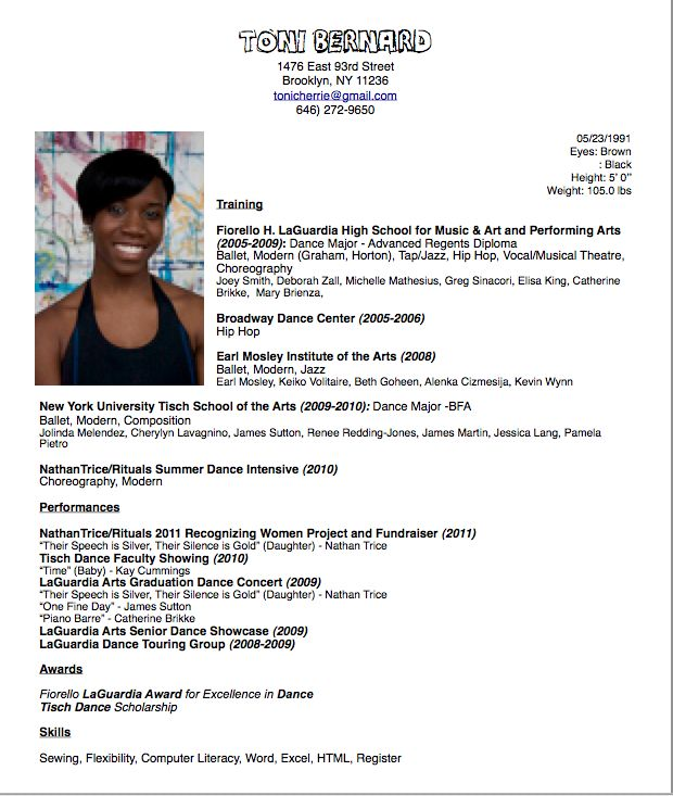 dance resume format image search results careers sample college template business Resume College Dance Resume Template