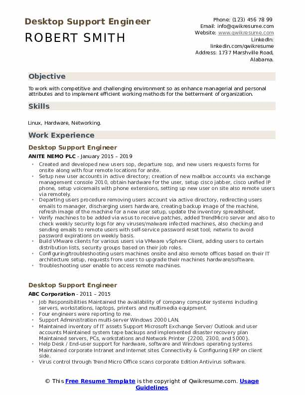 desktop support engineer resume samples qwikresume pdf couples templates best sample Resume Desktop Support Engineer Resume