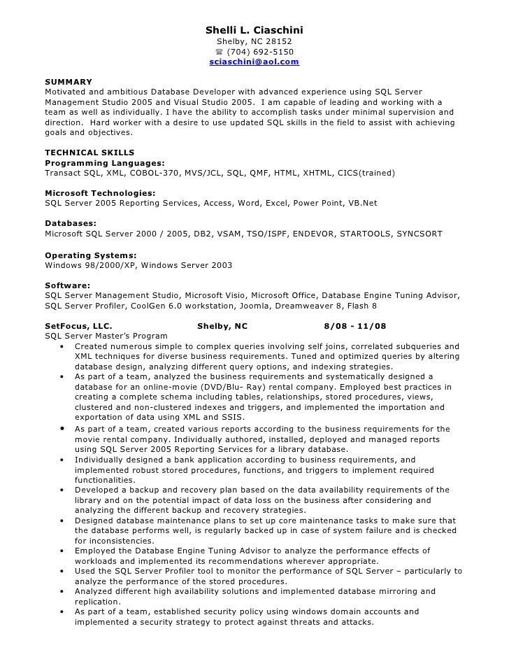 developer resume sample for cognos report cosmetology instructor maintenance manager cool Resume Sample Resume For Cognos Report Developer