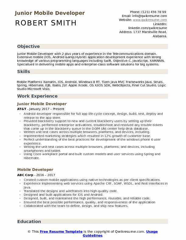 developer resume samples qwikresume free templates for android pdf quality engineer Resume Free Resume Templates For Android