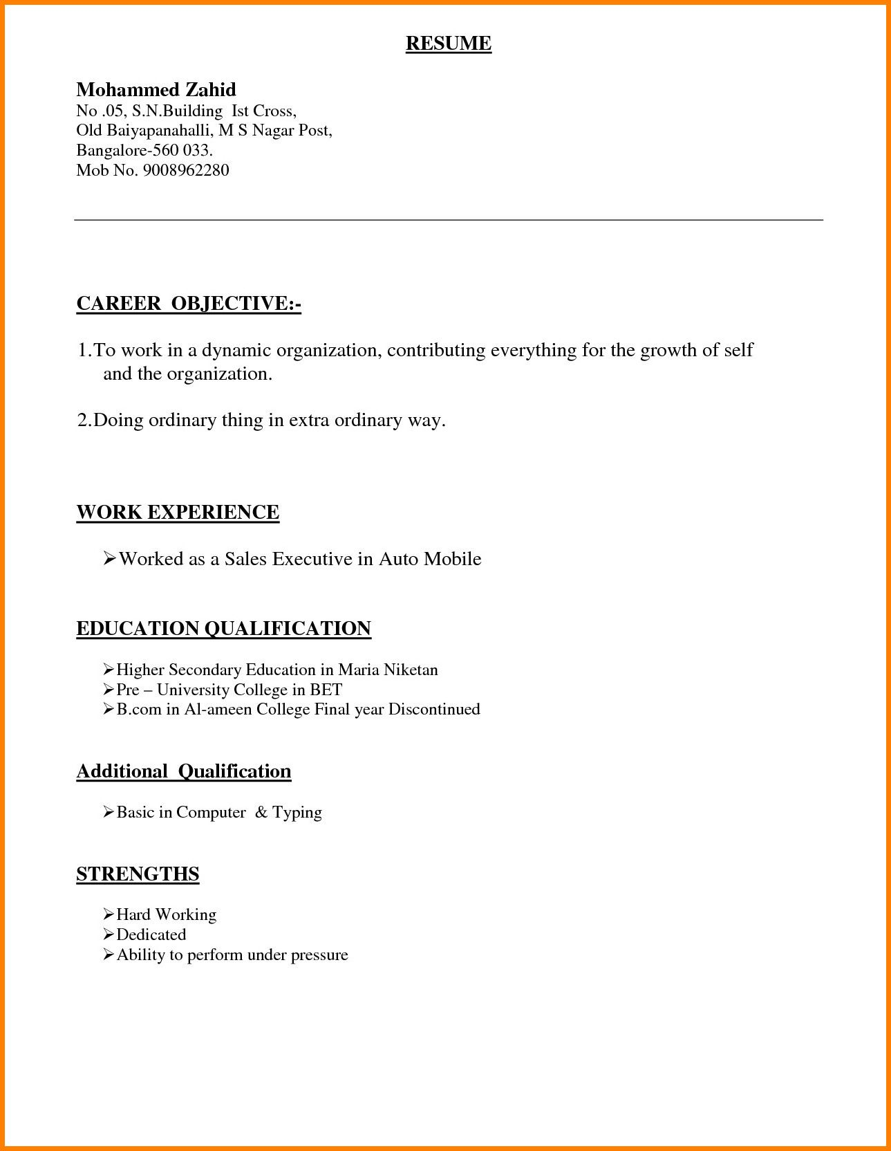different types of resume format in word pdf marketing manager job writing for hotel Resume Types Of Resume Pdf