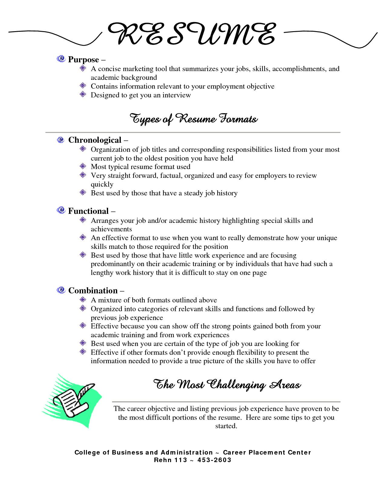 different types of resumes stylish for jobs resume ideas ex format examples job all Resume Resume For All Types Of Jobs