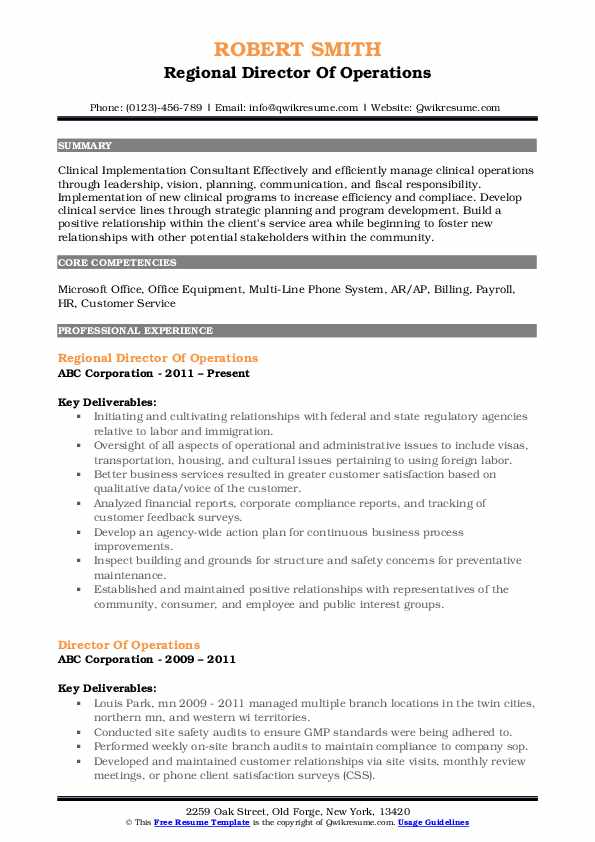director of operations resume samples qwikresume examples pdf for letter recommendation Resume Director Of Operations Resume Examples