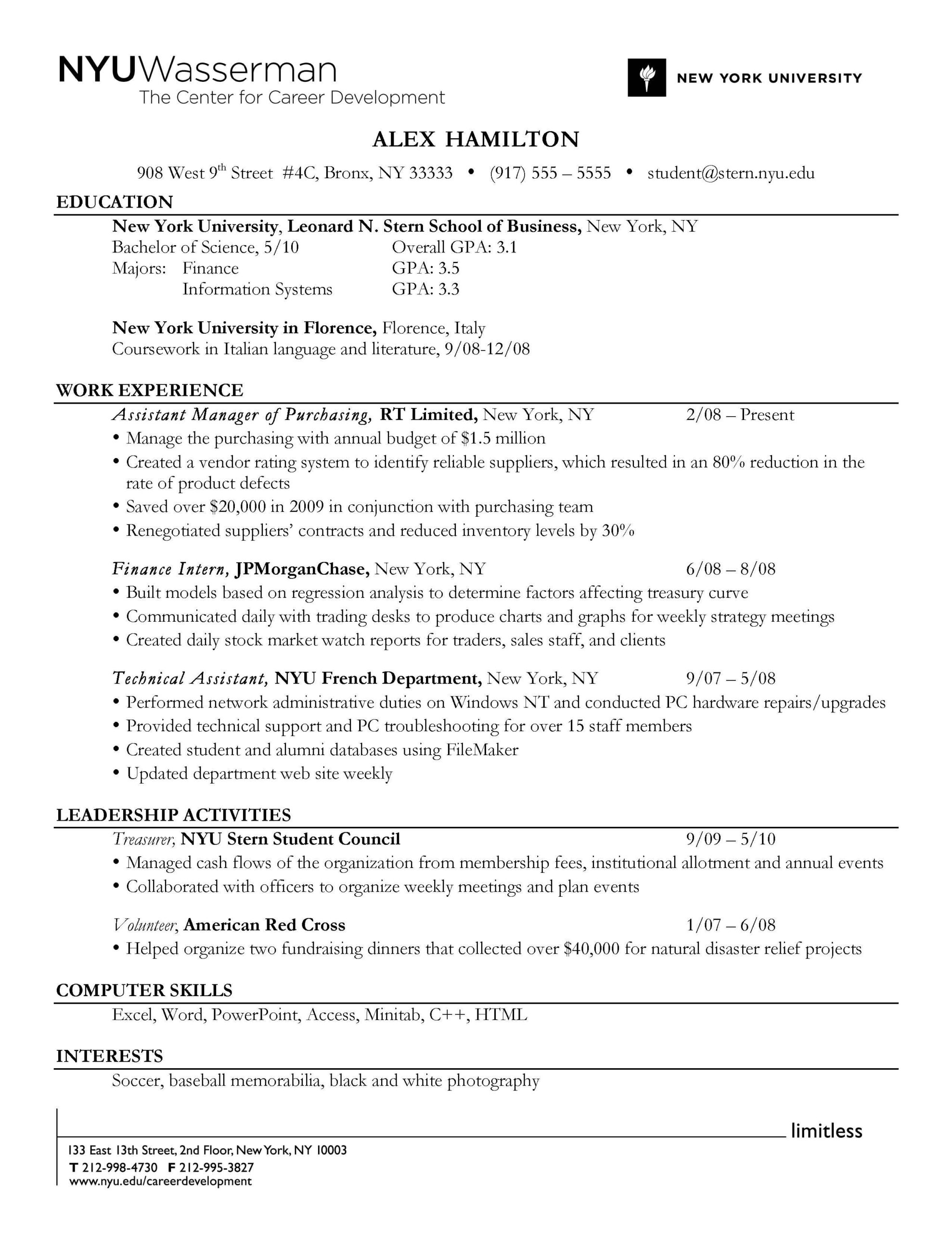 do use reverse chronological order resume format to highlight your education work Resume Order Of Education On Resume