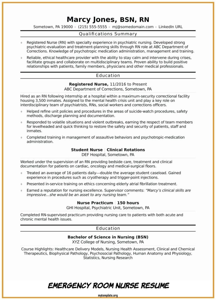 emergency room nurse resume free templates of awesome skills pin customer service rep Resume Emergency Room Nurse Resume