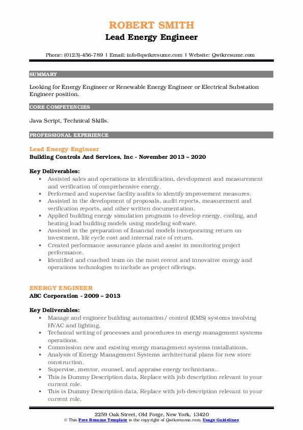 energy engineer resume samples qwikresume sample for pdf revenue manager examples make on Resume Sample Resume For Energy Engineer