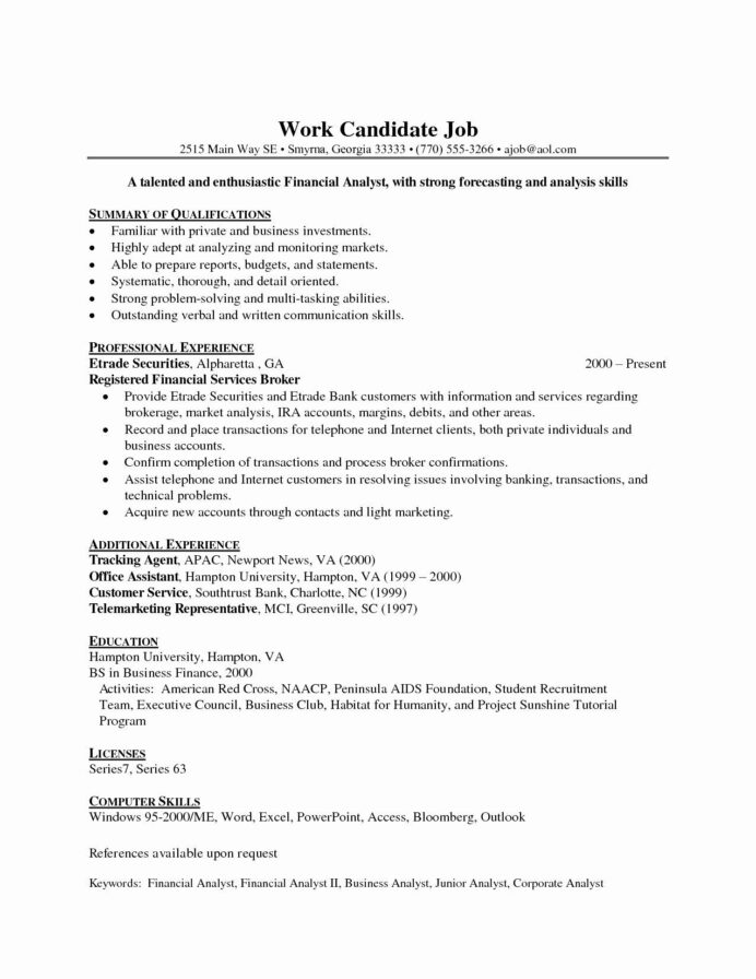 entry level data analyst resume awesome finance teacher job samples format in word ex Resume Entry Level Finance Resume