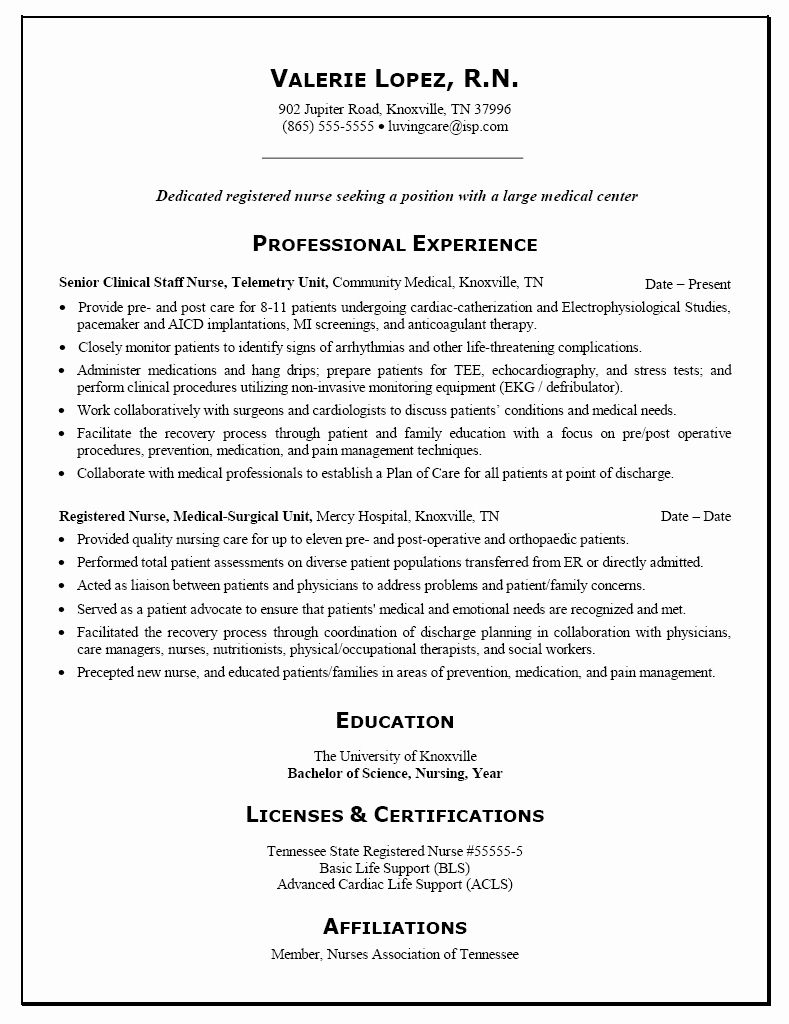 entry level nurse practitioner resume awesome template personal nursing examples rn new Resume New Graduate Nurse Practitioner Resume