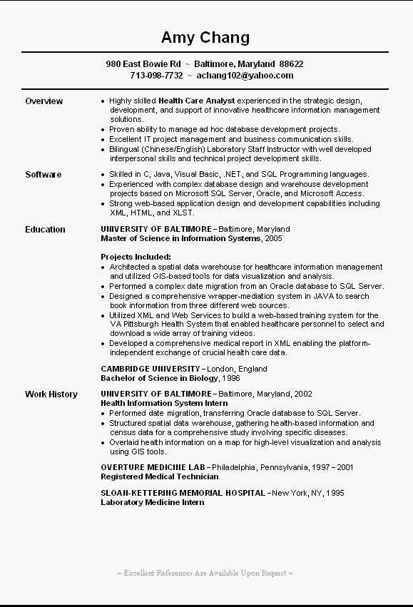 entry level resume template example it examples fresh job samples objective sample for Resume Sample Resume For Entry Level Jobs