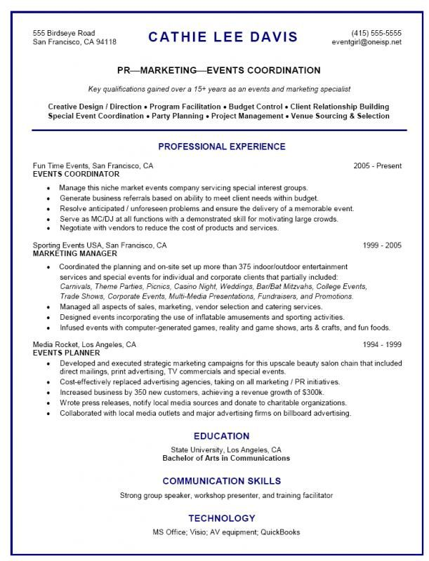event planner resume planning quotes coordinator jobs specialist landscaping skills for Resume Event Specialist Resume
