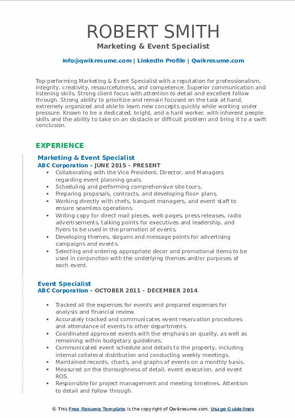 event specialist resume samples qwikresume pdf sitecore architect format for mass Resume Event Specialist Resume