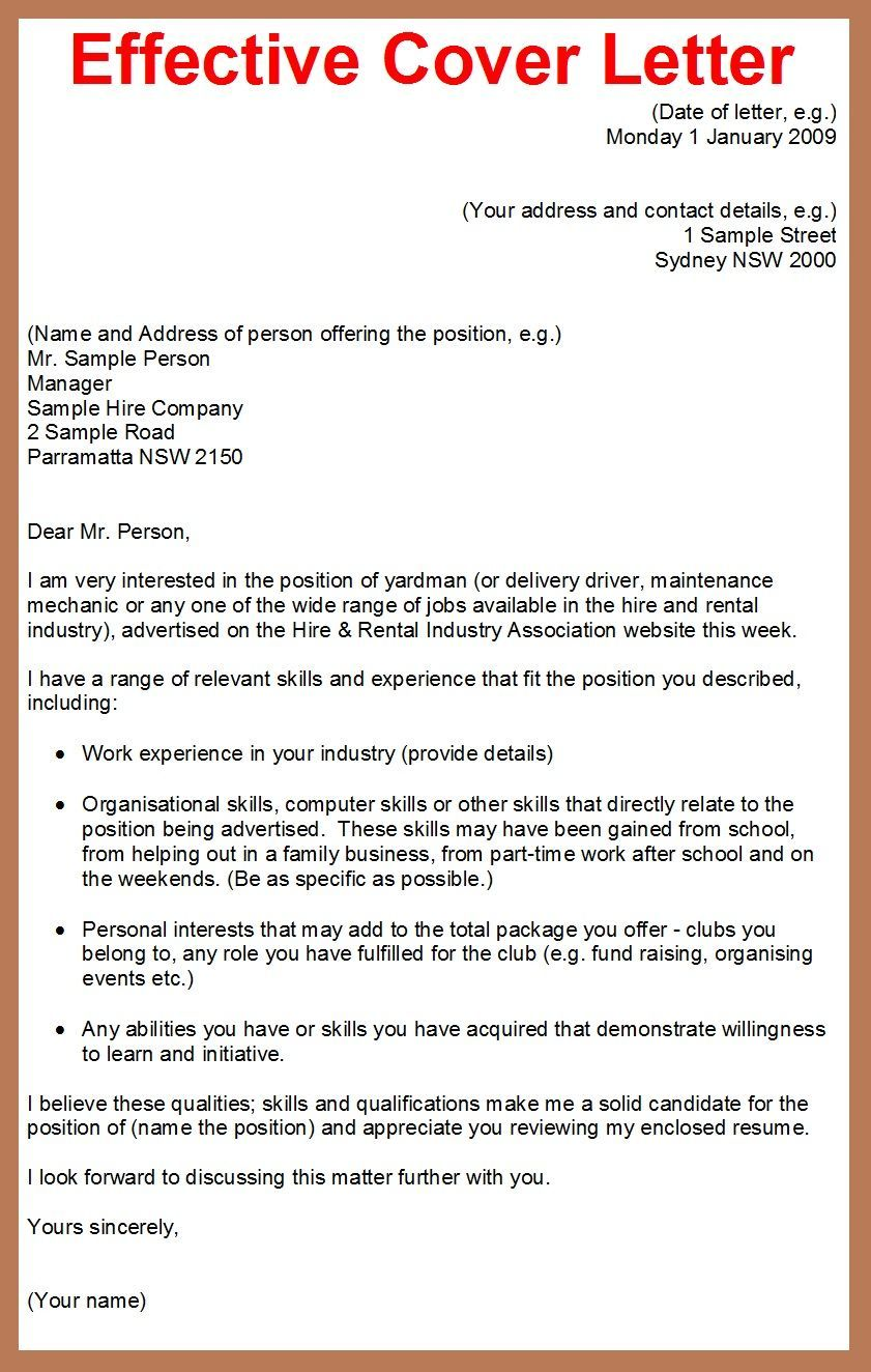 example of cover letter for job application effective should you always send with resume Resume Should You Always Send A Cover Letter With A Resume