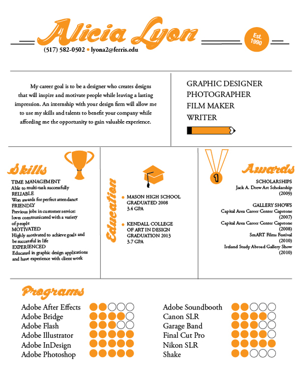 examples of creative graphic design resumes inspirationfeed student resume template Resume Graphic Design Student Resume Template