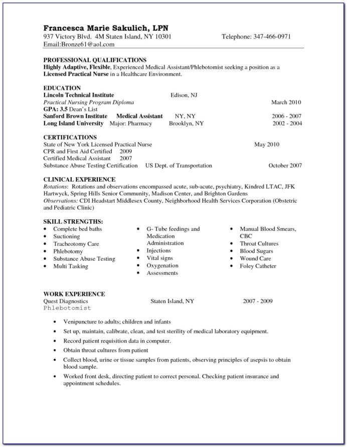 examples of lpn nursing resumes vincegray2014 resume chef summary for best word font Resume Lpn Nursing Resume Examples