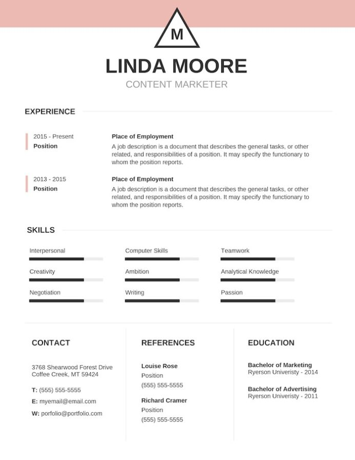 expert resume design ideas from hiring manager easy to read format simple colorful Resume Easy To Read Resume Format