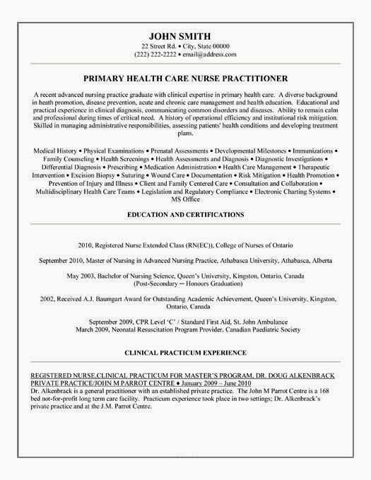 family nurse practitioner resume examples free templates school of creative job sites and Resume New Graduate Nurse Practitioner Resume