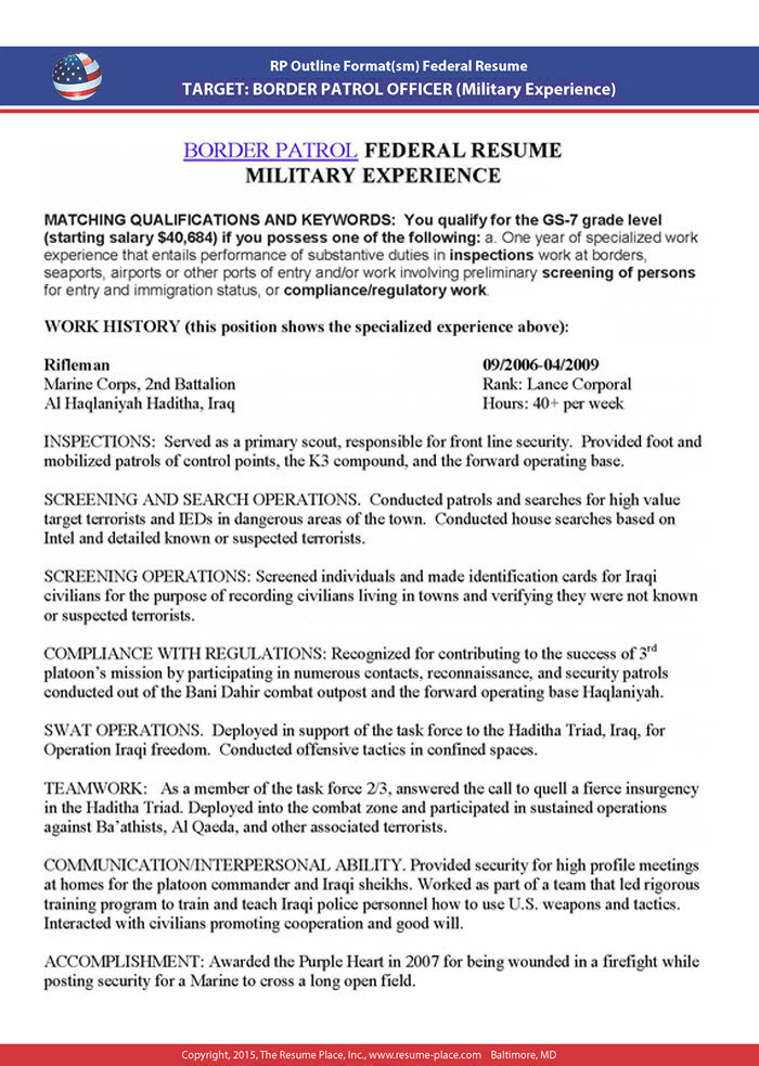 federal resume samples place government writer sample 5x4 of years experience software Resume Federal Government Resume Writer