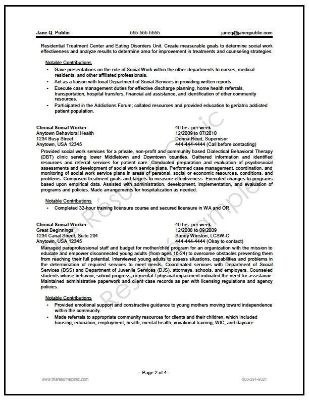 federal social worker resume writer sample the clinic medical public speaking objective Resume Medical Social Worker Resume