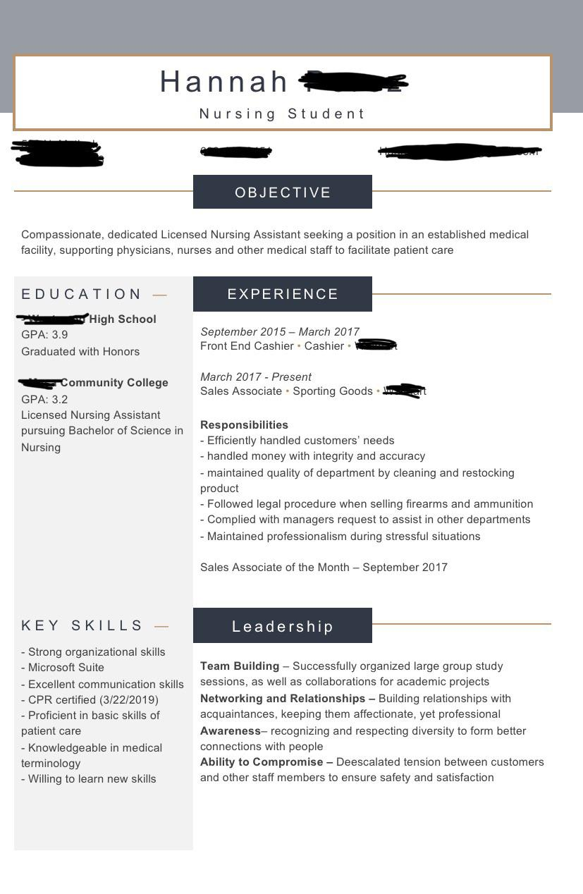 feedback on my resume some information blocked for privacy references at the bottom but Resume References On Resume Or Not