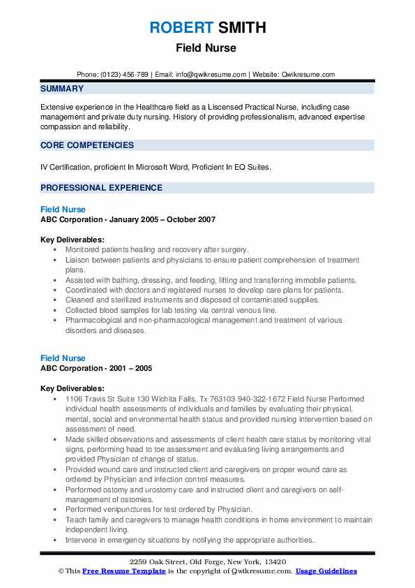 field nurse resume samples qwikresume private duty sample pdf medical technologist Resume Private Duty Nurse Resume Sample