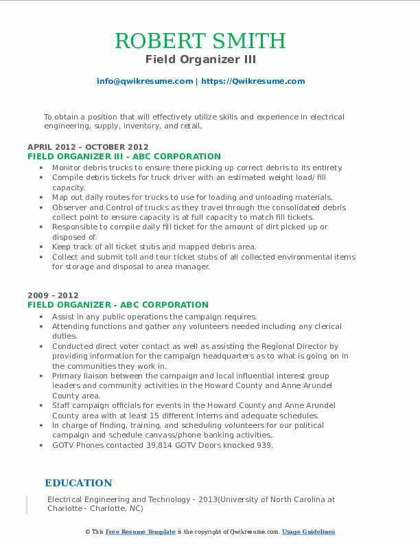 field organizer resume samples qwikresume political pdf outreach sample boy scout summary Resume Political Organizer Resume