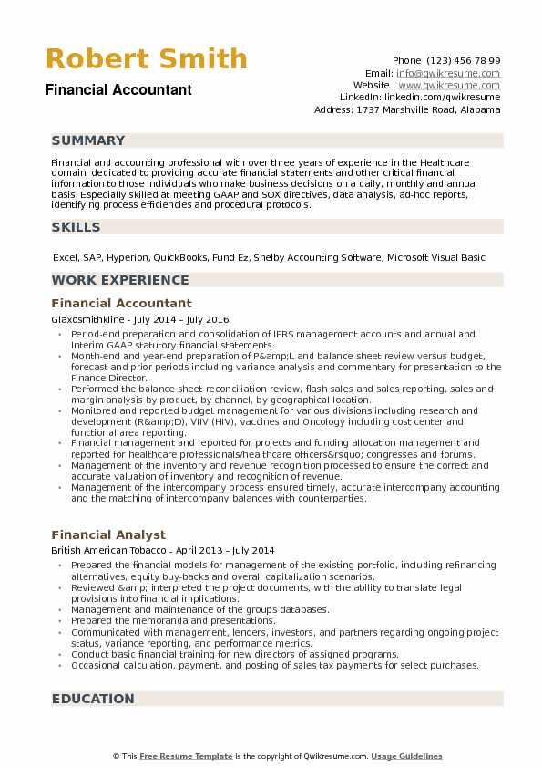 financial accountant resume samples qwikresume sample pdf agile product manager auto Resume Accountant Resume Sample