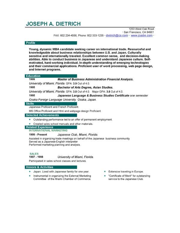 first job sample resume resumes format for bricklayer headline examples certificates that Resume Resume Format For First Job