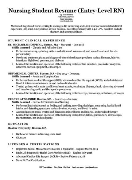 for lpn resume samples format nursing examples mechanic template career goals financial Resume Lpn Nursing Resume Examples
