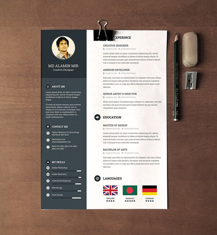free beautiful resume templates to hongkiat awesome hot designs hvac technician search Resume Awesome Resume Templates Free