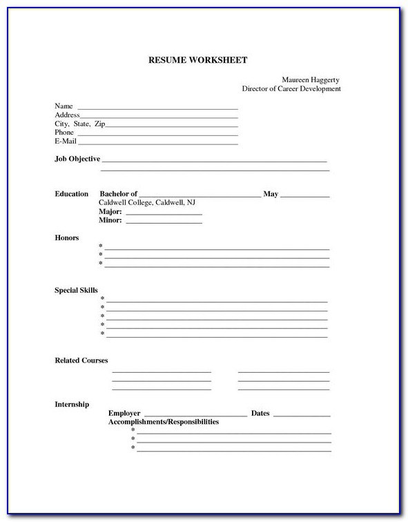 free blank resume templates to print vincegray2014 forms skills and abilities for Resume Free Resume Forms To Print