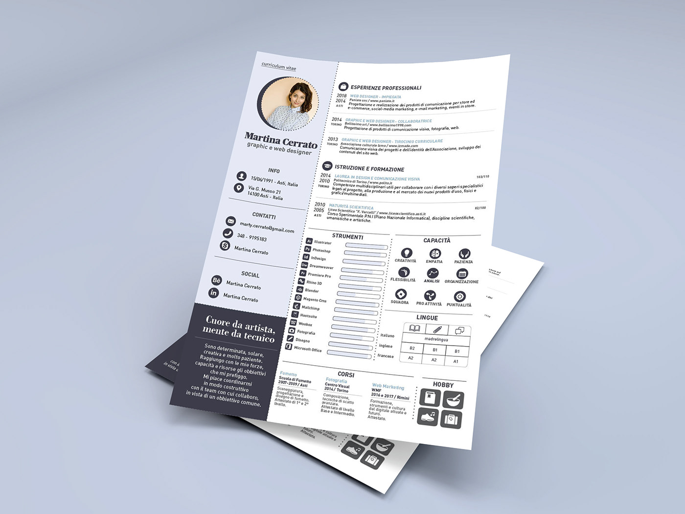 free creative resume templates for adobe indesign decolore net resumetemplate address on Resume Resume Templates For Adobe Indesign