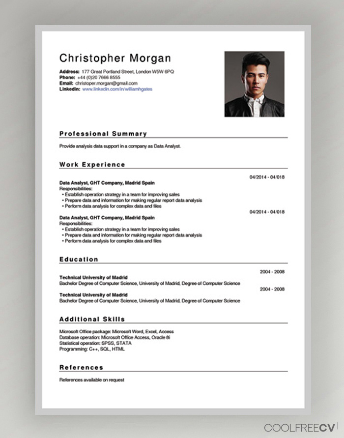 free cv creator maker resume builder pdf prepare template new description tableau good Resume Prepare Resume Online Free