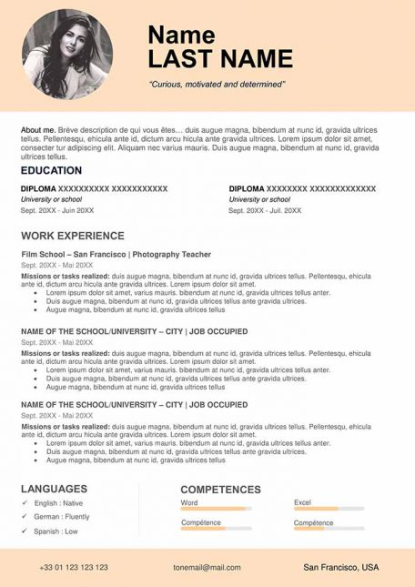 free cv template to fill out in word format cvs downloads film resume teacher 456x645 Resume Film Resume Template Download