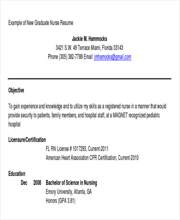 free examples of career objective templates in ms word pdf sample resume for fresh Resume Sample Of Resume Objective For Fresh Graduate