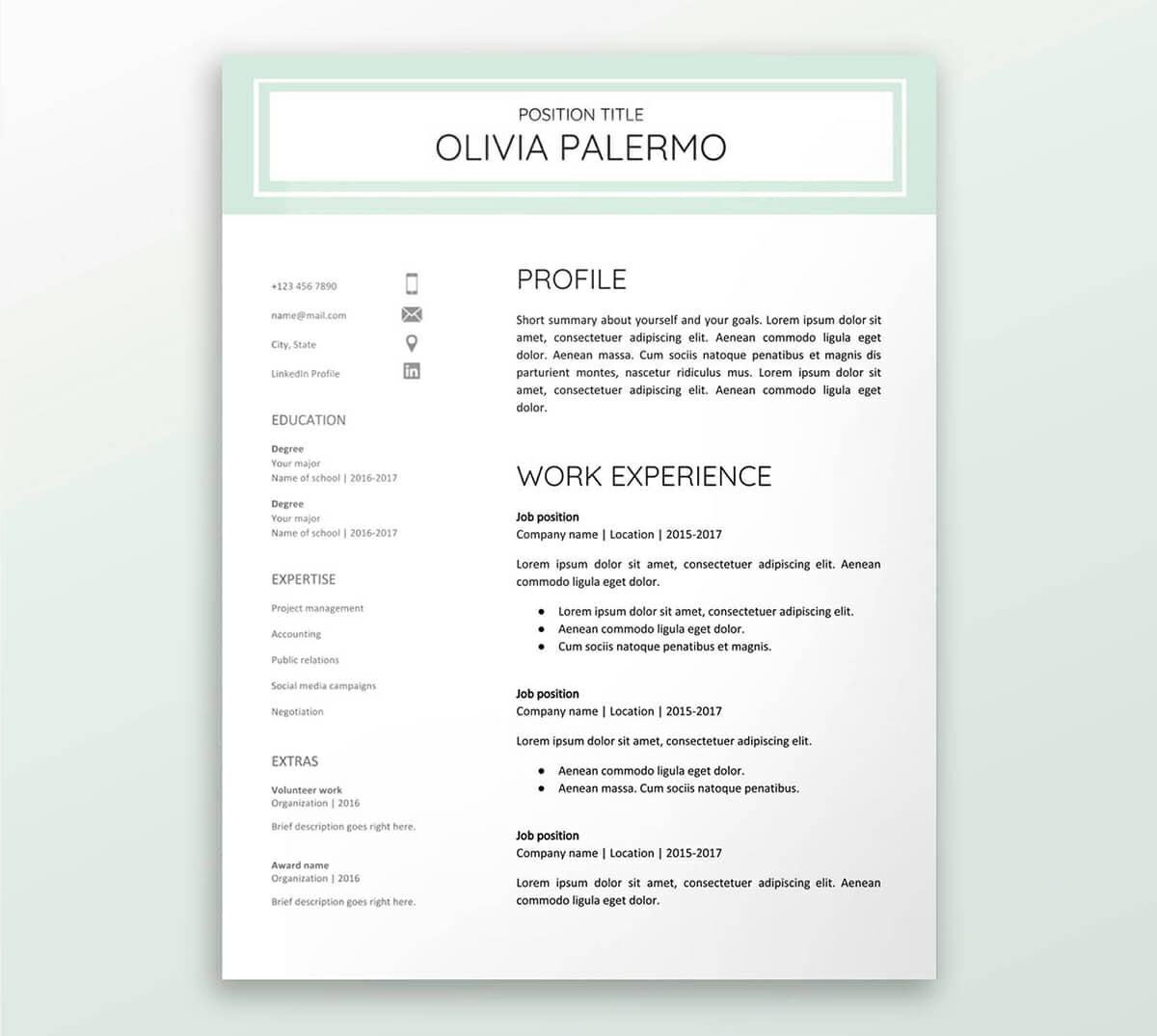 free google docs resume templates drive alternatives template format for ats cocktail Resume Template Google Docs Resume