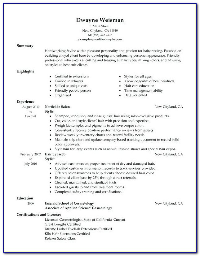 free hair stylist resume templates vincegray2014 keywords quick tips event planning Resume Free Hair Stylist Resume Templates Download