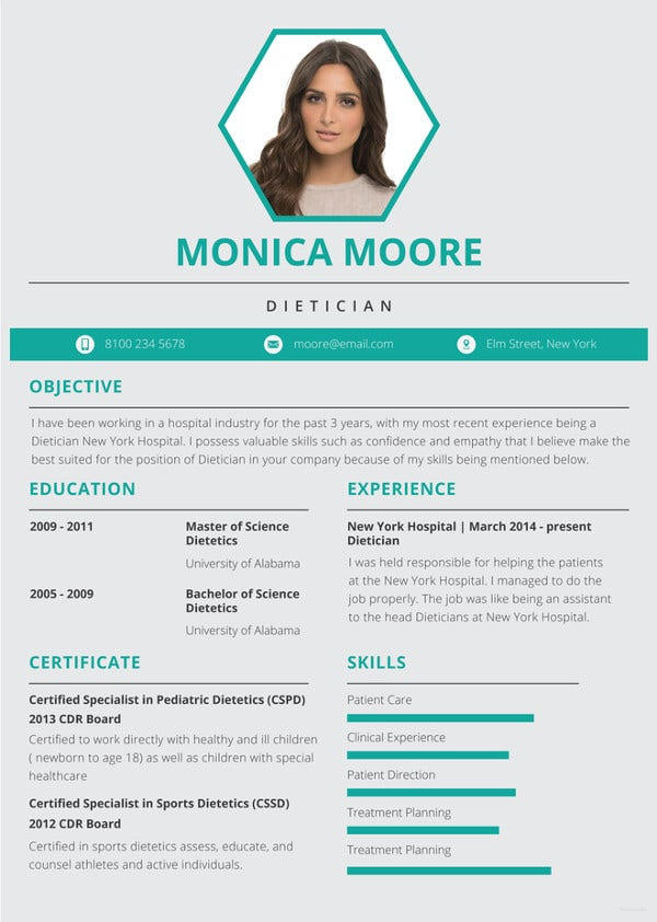 free mac resume templates in ms word indesign apple google docs premium new age dietician Resume New Age Resume Templates