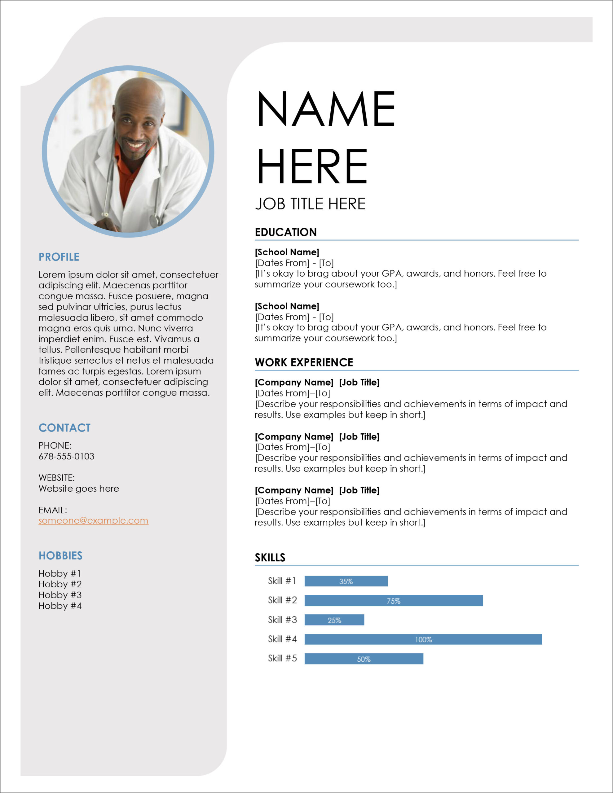 free modern resume cv templates minimalist simple clean design pdf microsoft template Resume Resume Templates Free Download Pdf