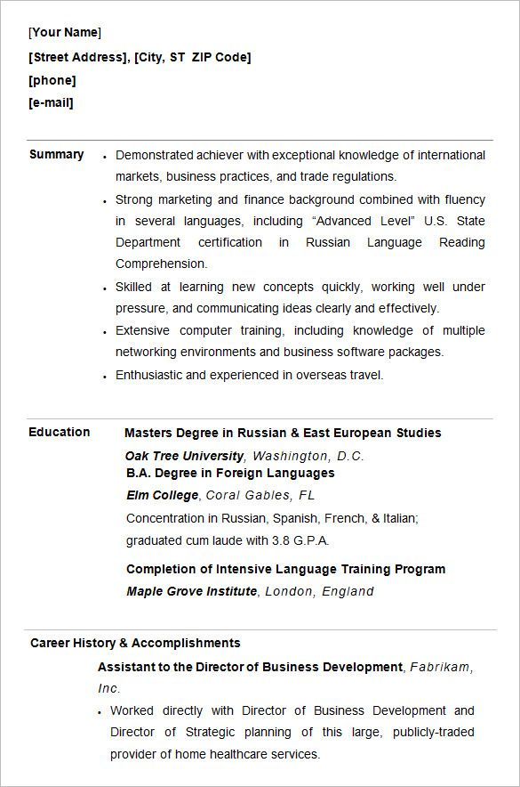 free premium templates student resume template college format for students handwritten Resume Resume Format For Students
