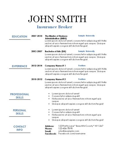 free printable resume templates sample vice president technology cover letter for Resume Free Printable Sample Resume Templates