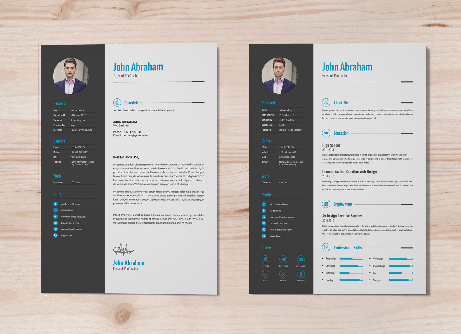 free professional resume template cover design in word good corporate home health nurse Resume Corporate Resume Template Free