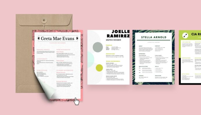 free resume builder design custom in canva create easy best document format entry level Resume Create Easy Resume Free